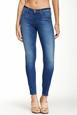 True Religion Halle Mid Rise Super Skinny Jeans Crystal Spring Dr Blue 28 NWD