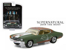BOBBY'S 1971 CHEVROLET CHEVELLE SS SUPERNATURAL SERIES 1/64 GREENLIGHT 44740 A