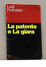 LA PATENTE E LA GIARA - L. Pirandello [Libro, Grafica editoriale]