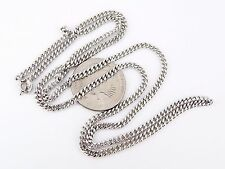"""24"""" Sterling Silver Curb Chain 14.1 Grams"""