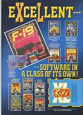 Kixx F-19 Stealth Fighter 1993 Magazine Advert #7282