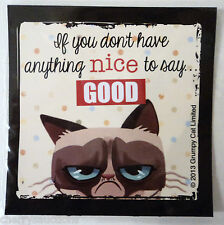 """If you don't have anything nice to say GOOD GRUMPY CAT REFRIGERATOR MAGNET 3"""""""