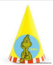 Cat in the Hat Dr Seuss Party Supplies HATS Birthday Decoration Kids Baby Favors