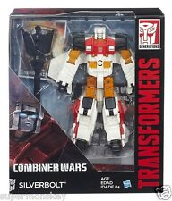 HASBRO TRANSFORMERS GENERATIONS COMBINER WARS VOYAGER CLASS SILVERBOLT FIGURE