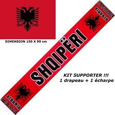 sciarpa + bandiera ALBANIA maglia sportiva schal bufanda