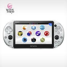 Sony Playstation PS Vita PCH-2000ZA25 Wi-Fi Model Sliver Console Japan Version