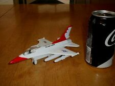 F-16 FALCON FIGHTER PLANE -- U.S. AIR FORCE, DIE CAST METAL TOY, SCALE 1:66