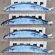Funny  Mackerel Fish Zipper Pencil Case Pen Make-up Pouch Pencil Case Realistic