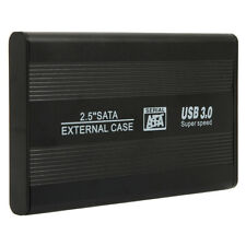 "2.5"" SATA Aluminum HDD Hard Drive Enclosure USB 3.0  External Case US Free Ship"