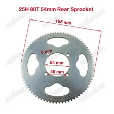 25H 80T 54mm Rear Chain Sprocket 47 49cc Mini Moto ATV Scooter Pocket Bike Goped