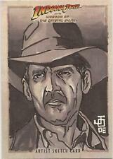 "Indiana Jones Kingdom of Crystal Skull - Jon Ocampo ""Indiana Jones"" Sketch Card"