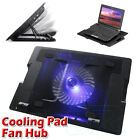 USB Hub Cooling Fan For Laptop Notebook Pad Table Cooler Stand Pad