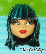 MONSTER HIGH I HEART SHOES CLEO DE NILE DOLL REPLACEMENT HEAD GR84 OOAK