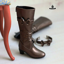 MSD Shoes 1/4 BJD Boots Dollfie EID MID DOD SOOM AOD Dollmore Brown Boots 0128