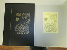 A Book of Automatic Drawing - Austin Osman Spare SIGNED Limited Edition / Occult