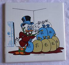 Ancien carreau de faience de Desvres , Walt Disney Productions    Picsou