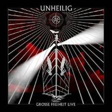 "UNHEILIG ""GROSSE FREIHEIT LIVE"" CD 13 TRACKS NEU"