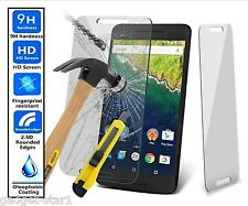 Genuine 100% TEMPERED GLASS HD Screen Protector For HUAWEI GOOGLE NEXUS 6P