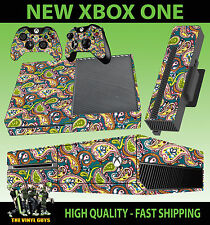 XBOX ONE CONSOLE STICKER PRETTY GREEN LIAM GALLAGHER OASIS SKIN & 2 PAD SKINS