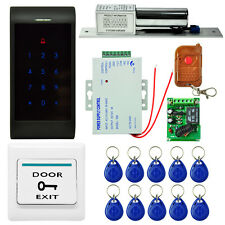 2200 LBs Kit Electric Door Lock Magnetic Access Control Card Password System FO
