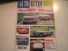 **c Auto Moto Rétro n°174 Pontiac Firebird 1970 - 1982 / Jaguar Type E V 12