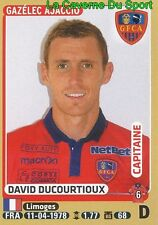 008 DAVID DUCOURTIOUX # GFC.AJACCIO SC.BASTIA CS.SEDAN STICKER PANINI FOOT 2016