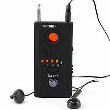 Anti-Spy Camera Wireless RF Signal Bug Detector Tracer High Quality