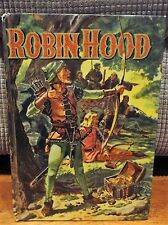 Robin Hood Hard Cover Book by Howard Pyle 1955 Vintage