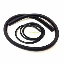 LAND ROVER DEFENDER REAR TRUCK CAB CORNER WINDOW RUBBER SEAL & FILLER LR012213