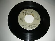 Toney Lee - Goin' Through The Motions Of Love  45  Critique Records   NM 1986