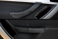 BLACK STITCH FITS CITROEN C4 GRAND PICASSO 06-13 2X FRONT DOOR HANDLE COVERS