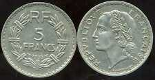5 francs 1935  NICKEL  LAVRILLIER  ( bis )