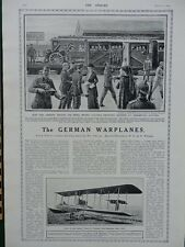 1914 GERMAN WARPLANES; OSNABRUCK STATION; FRENCH SCENES WW1 WWI
