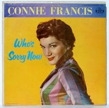 CONNIE FRANCIS - Who's Sorry Now - Her First LP - MGM E3686