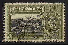 [JSC] 1938 Trinidad & Tobago Government House KGVI 24c