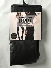 BNIP Voodoo Brand Hot Black Sz Large Leatherette Footless Long Pants RRP $45