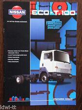 Nissan eco t-100 folleto/brochure/depliant, F