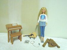 HANNAH  MONTANA  BARBIE  DOLL  LOT  -  PIANO,  GUITAR, MICROPHONE, &