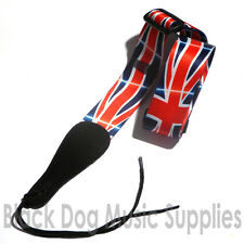 Union Jack guitar strap (British Flag) for electric, Acoustic or bass guitar