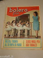 BOLERO=1965/941=GIGLIOLA CINQUETTI=JERRY LEWIS=GINO CERVI FERNANDEL DON PEPPONE