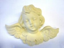 ARCHITECTURAL CHERUB FURNITURE APPLIQUE-WOOD& RESIN-PAINTABLE-STAINABLE-FLEXIBLE