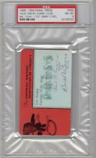 1958 NFL Championship Baltimore Colts Top N Y Giants Ticket pass psa