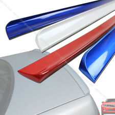 MERCEDES BENZ W202 C CLASS REAR TRUNK LIP SPOILER S'ILVER 775 PAINTED §