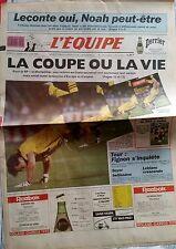 L'Equipe Journal 2-3/6/1990; Leconte oui, Noah peut être/ Mondial 90/ Fignon