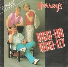 "HERREY'S- DIGGI LOO, DIGGI LEY + EVERY SONG YOU SING SINGLE 7"" SPAIN 1984 MINT"