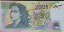 Serbia - first and only Polymer Banknote issued in Serbia.2005.UNC SPECIMEN