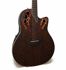 Ovation Celebrity Elite Plus CE48P-TGE Super Shallow Acoustic-Electric Guitar