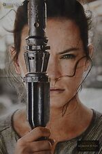 STAR WARS - A3 Poster (ca 42 x 28 cm) - Daisy Ridley Clippings Fan Sammlung NEU