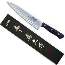 "Japanese MAC TH-80 Chef Series 8"" Blade Chef Knife w/ Dimples, Made in Japan NIB"