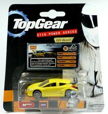 "aus der Kultserie Top Gear: Renault Megane Trophy gelb 1:64 ""STIG POWER SERIES"""